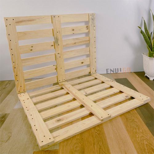 giường pallet gỗ thông