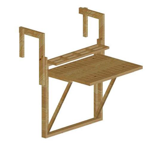 bàn bar treo ban công