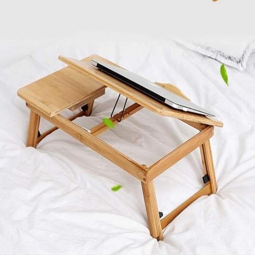 bàn để ipad bằng gỗ