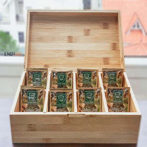 hộp gỗ 8 ngăn