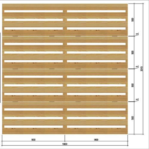 giường hộp pallet gỗ